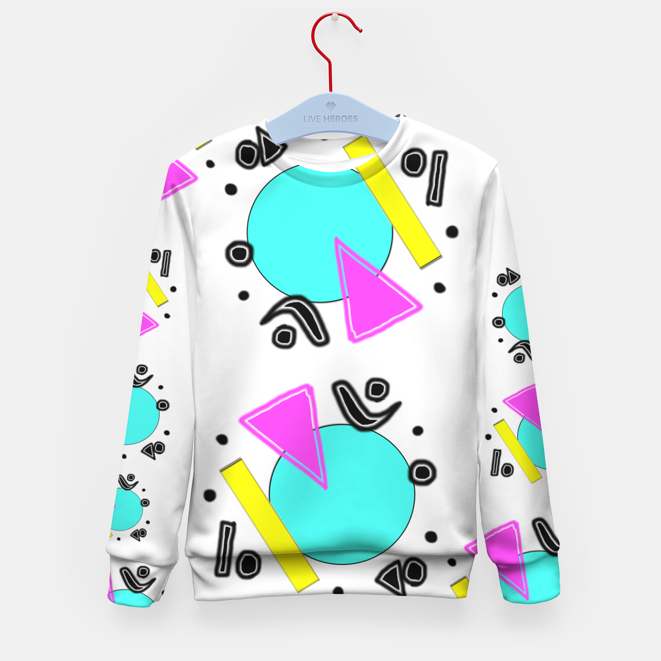 Image of 80's Overloaded! Kid's sweater - Live Heroes