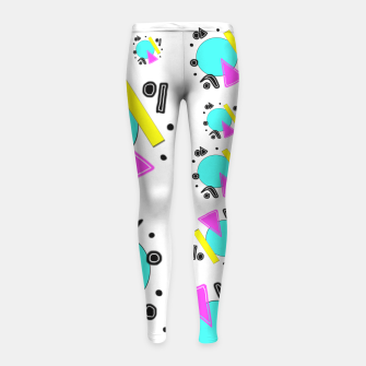 80's Overloaded! Girl's leggings thumbnail image