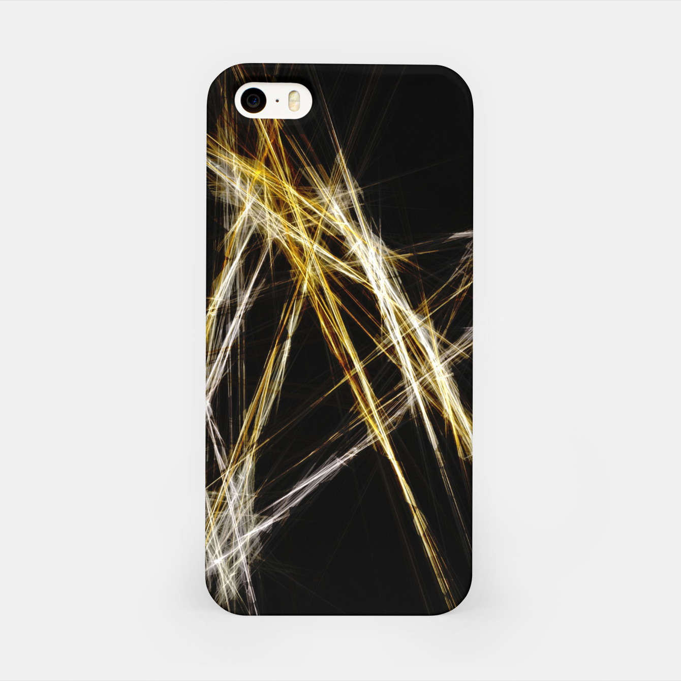 Image de Abstract 2 - Gold & Silver LowPoly iPhone-Hülle - Live Heroes