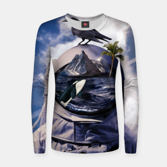 Thumbnail image of Island Women sweater, Live Heroes