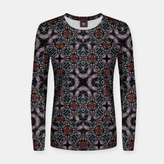Thumbnail image of Chic Fractal Ornate Print Pattern Women sweater, Live Heroes