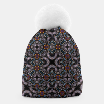 Thumbnail image of Chic Fractal Ornate Print Pattern Beanie, Live Heroes