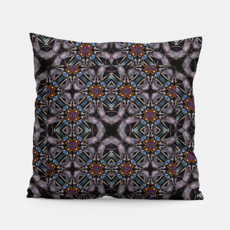 Thumbnail image of Chic Fractal Ornate Print Pattern Pillow, Live Heroes