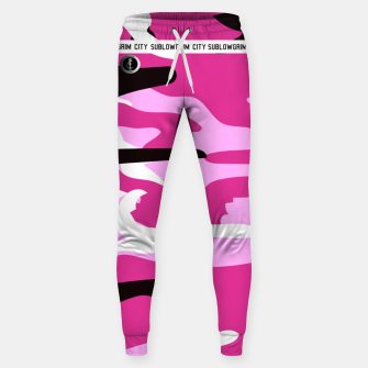Thumbnail image of SublowGrim City Pink Tracksuit Bottoms, Live Heroes