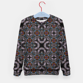 Thumbnail image of Chic Fractal Ornate Print Pattern Kid's sweater, Live Heroes