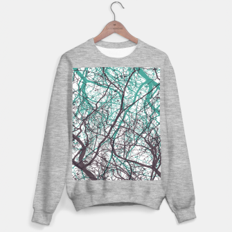 Miniaturka Branches purple mint Sweater regular, Live Heroes