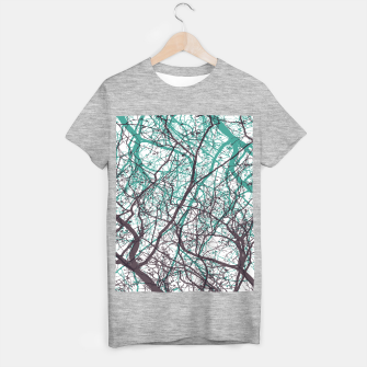 Miniaturka Branches purple mint T-shirt regular, Live Heroes