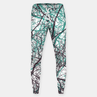Miniaturka Branches purple mint Sweatpants, Live Heroes