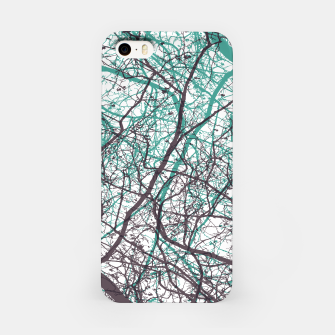 Miniaturka Branches purple mint iPhone Case, Live Heroes