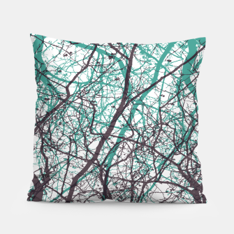 Miniaturka Branches purple mint Pillow, Live Heroes