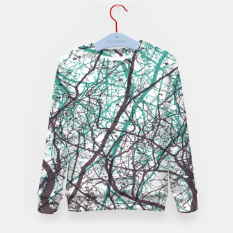 Miniaturka Branches purple mint Kid's sweater, Live Heroes