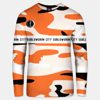 Thumbnail image of SublowGrim City Orange Camo Jumper, Live Heroes