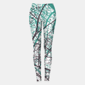 Miniaturka Branches purple mint Leggings, Live Heroes