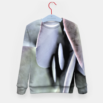 Thumbnail image of Succulent Leaves Kid's sweater, Live Heroes