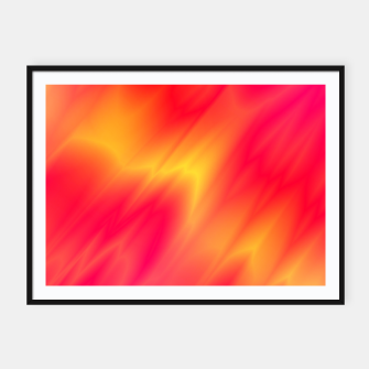 Thumbnail image of fire & flame Framed poster, Live Heroes