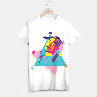 Thumbnail image of 2Pac 90s Camiseta Regular, Live Heroes