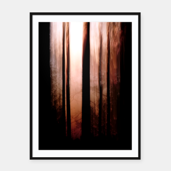 Thumbnail image of Pink dawn Framed poster, Live Heroes