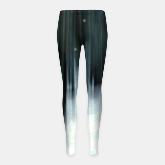 Miniatur Paint it white Girl's leggings, Live Heroes