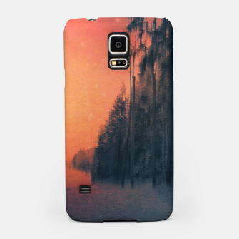 Miniatur Fire in the sky Samsung Case, Live Heroes