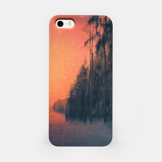 Miniatur Fire in the sky iPhone Case, Live Heroes