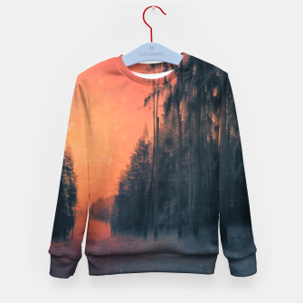 Miniatur Fire in the sky Kid's sweater, Live Heroes