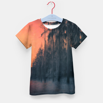 Miniatur Fire in the sky Kid's t-shirt, Live Heroes