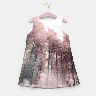 Miniatur Head in the clouds Girl's summer dress, Live Heroes