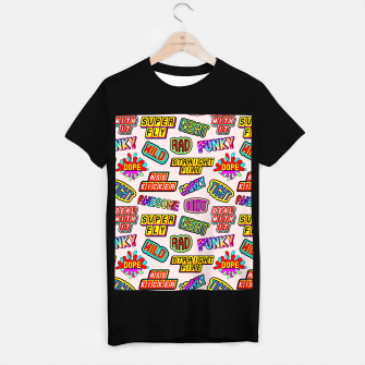 Thumbnail image of Funky pattern #08 (dope, straight fire, funky, hot, deal with it, crazy, awesome, etc) T-shirt regular, Live Heroes
