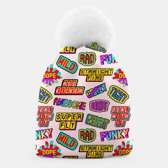 Thumbnail image of Funky pattern #08 (dope, straight fire, funky, hot, deal with it, crazy, awesome, etc) Beanie, Live Heroes
