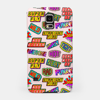 Thumbnail image of Funky pattern #08 (dope, straight fire, funky, hot, deal with it, crazy, awesome, etc) Samsung Case, Live Heroes