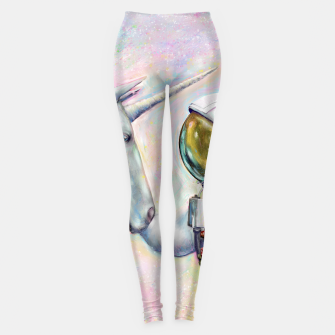 Thumbnail image of Unicorn and Astronaut Leggings, Live Heroes