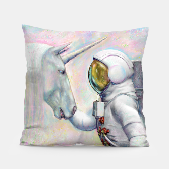Thumbnail image of Unicorn and Astronaut Kissen, Live Heroes