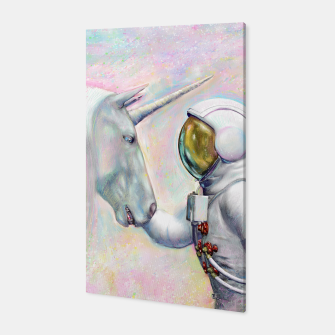 Thumbnail image of Unicorn and Astronaut Canvas, Live Heroes