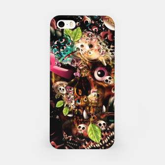 Miniatur Skully iPhone Case, Live Heroes