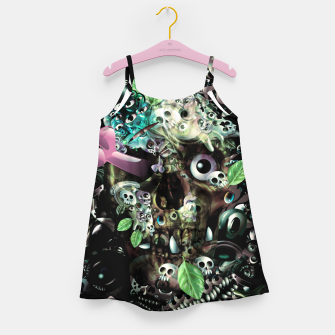 Miniatur Skully Night Girl's dress, Live Heroes