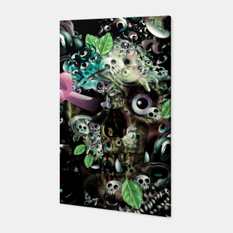 Miniatur Skully Night Canvas, Live Heroes
