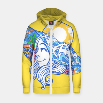Happy Vacation Zip up hoodie thumbnail image