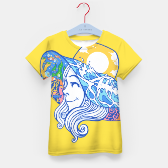 Thumbnail image of Happy Vacation Kid's t-shirt, Live Heroes