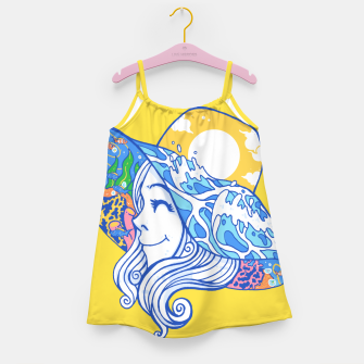Happy Vacation Girl's dress thumbnail image