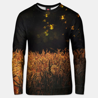 Thumbnail image of Golden wings Unisex sweater, Live Heroes