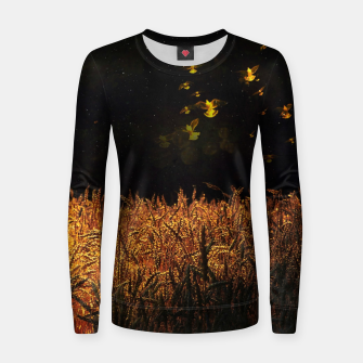 Thumbnail image of Golden wings Women sweater, Live Heroes