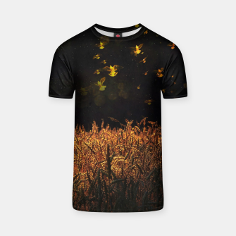 Thumbnail image of Golden wings T-shirt, Live Heroes