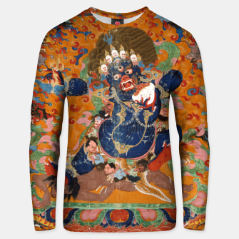 Thumbnail image of Yama Yamantaka Lord of Death Unisex sweater, Live Heroes