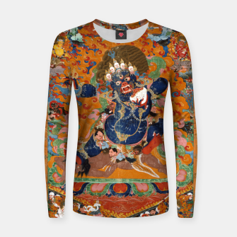 Thumbnail image of Yama Yamantaka Lord of Death Women sweater, Live Heroes