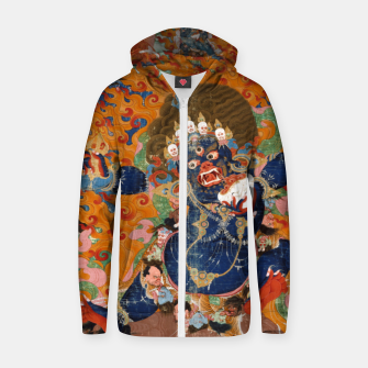 Thumbnail image of Yama Yamantaka Lord of Death Zip up hoodie, Live Heroes