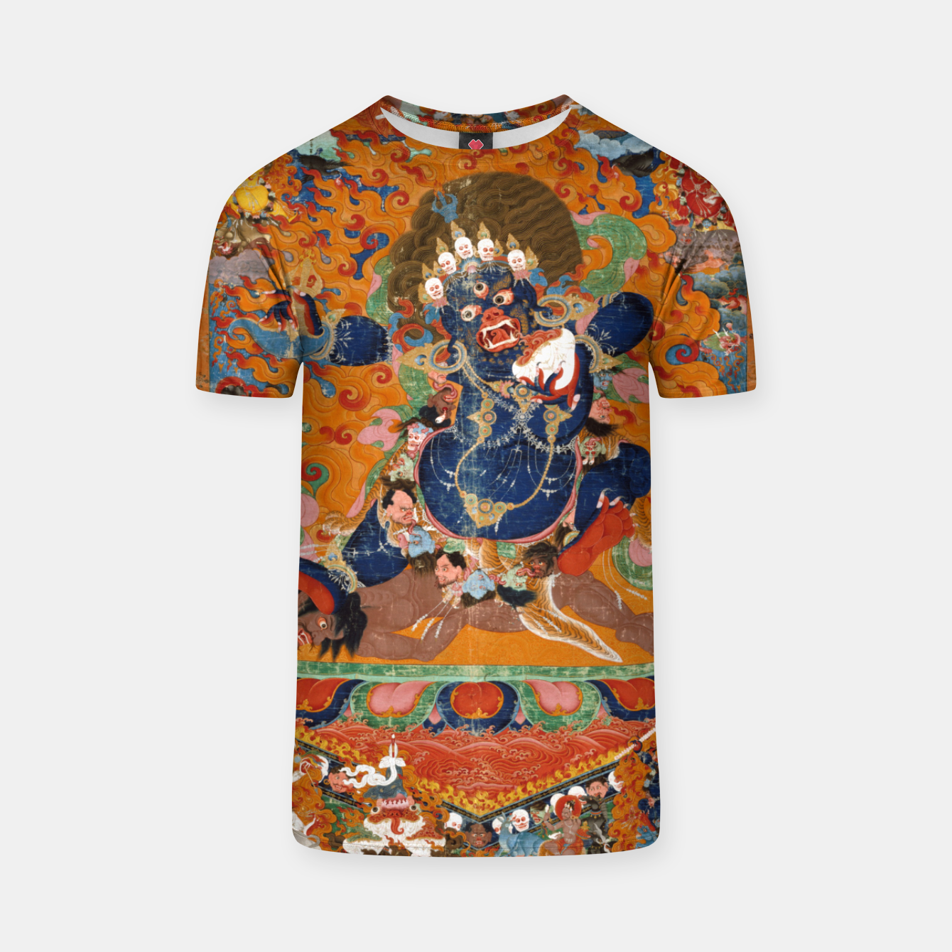 Image of Yama Yamantaka Lord of Death T-shirt - Live Heroes