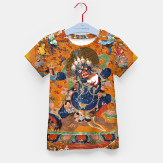 Thumbnail image of Yama Yamantaka Lord of Death Kid's t-shirt, Live Heroes