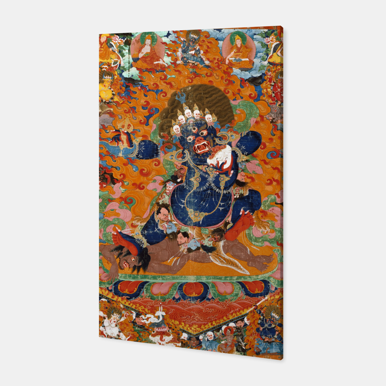 Image of Yama Yamantaka Lord of Death Canvas - Live Heroes