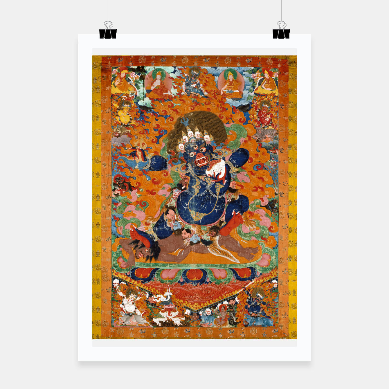 Image of Yama Yamantaka Lord of Death Poster - Live Heroes