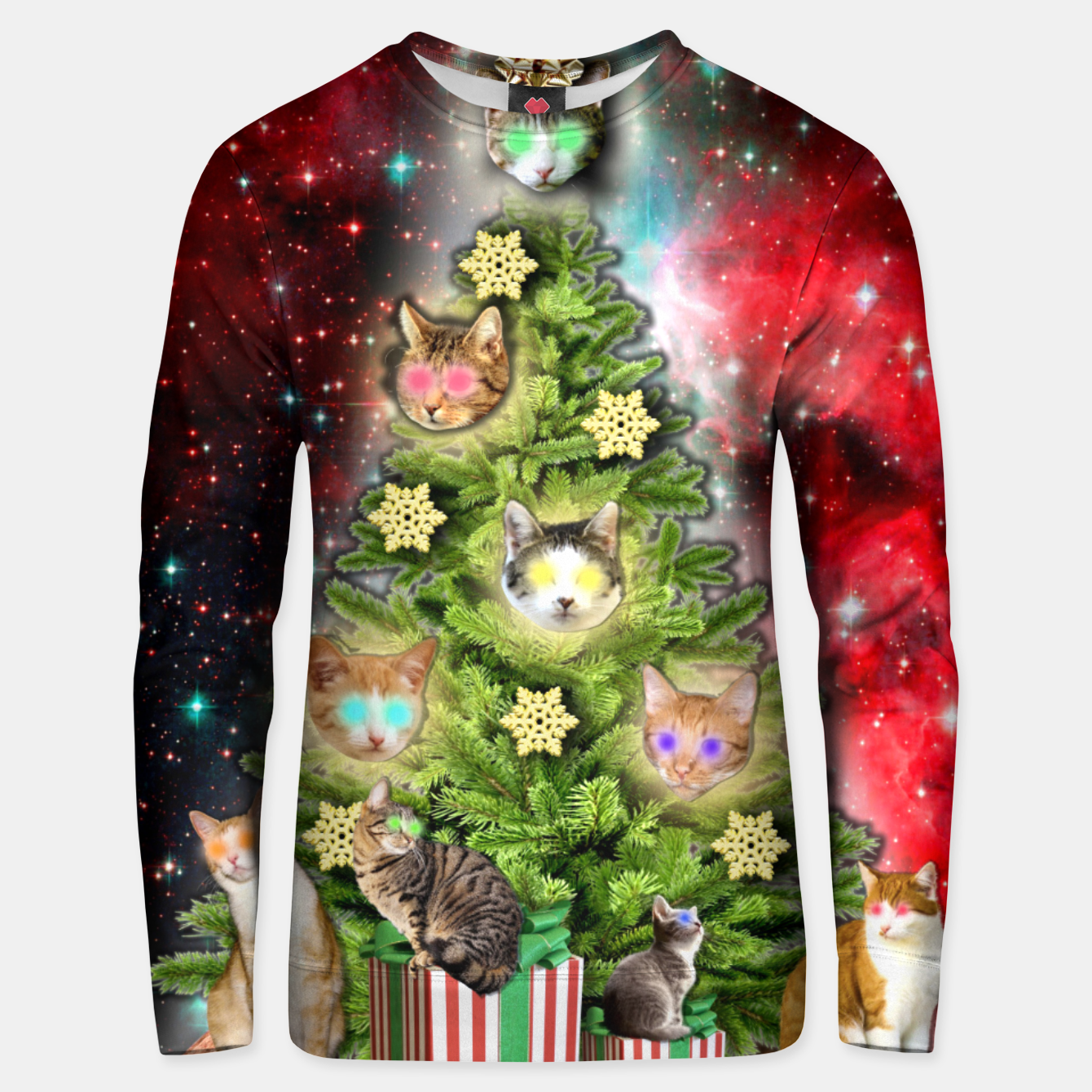 Image of MERRY CHRISTMAS CATS Sudadera unisex - Live Heroes